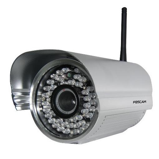 Foscam FI9805W HD (Outdoor Camera) zilver