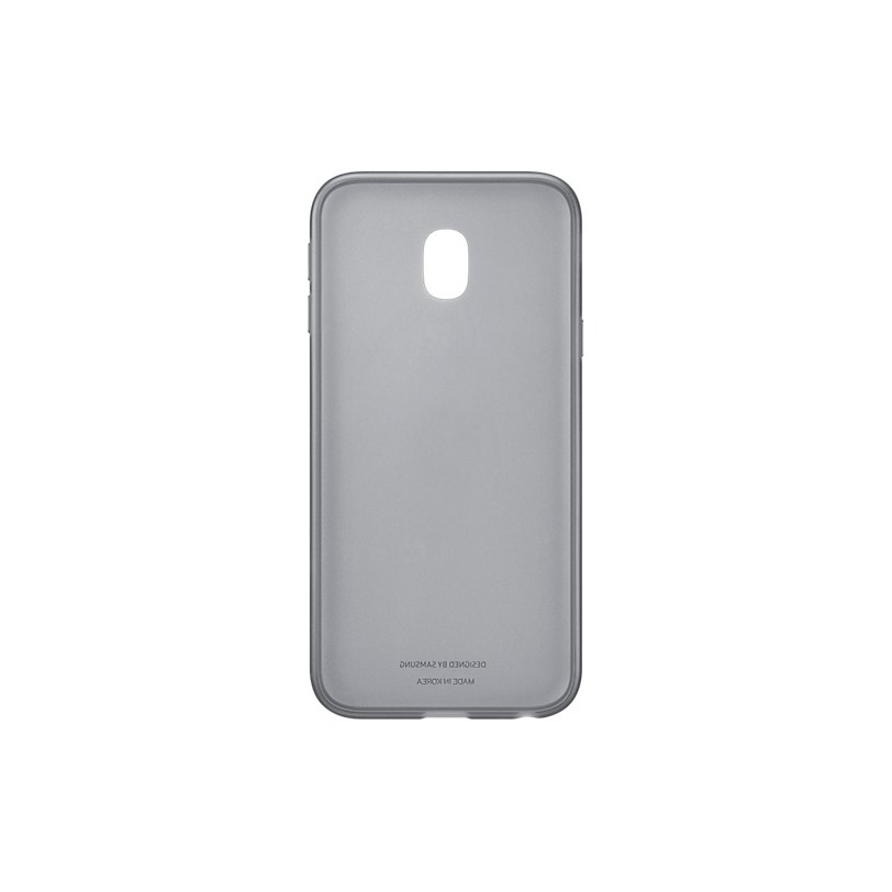 Samsung Jelly Cover - voor Galaxy J3 2017 zwart