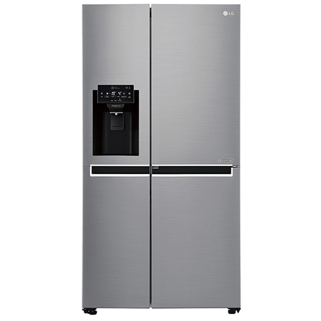 LG amerikaanse koelkast GSJ461DIDV donkergrijs