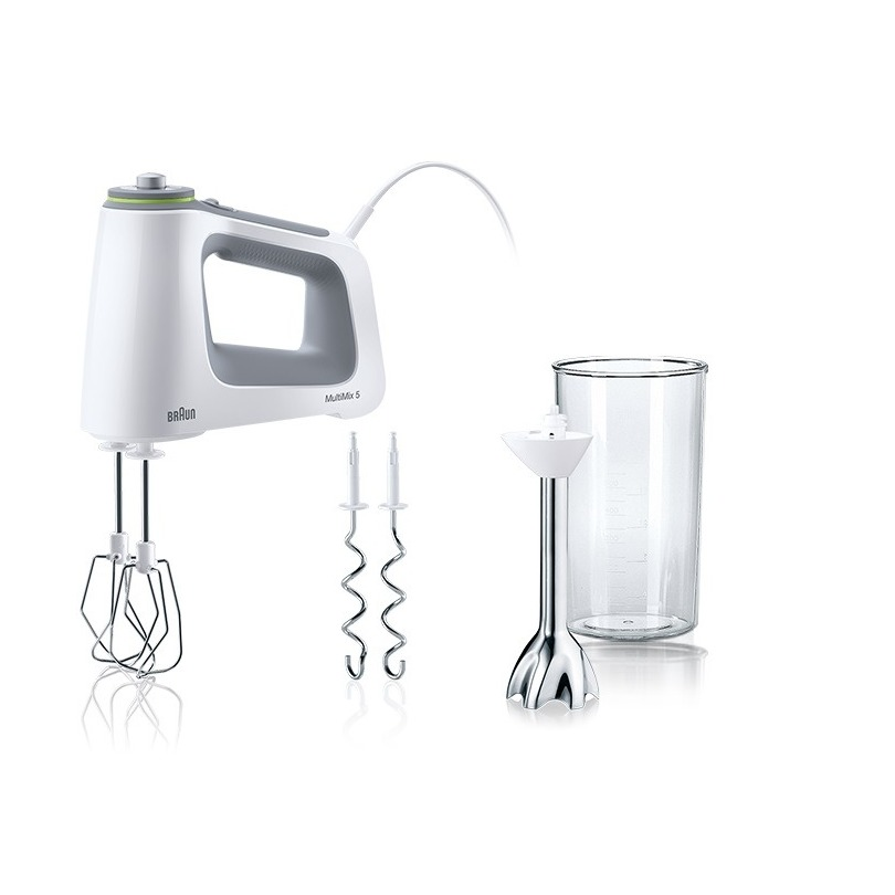 Braun mixer HM5107 WH wit/grijs - Prijsvergelijk