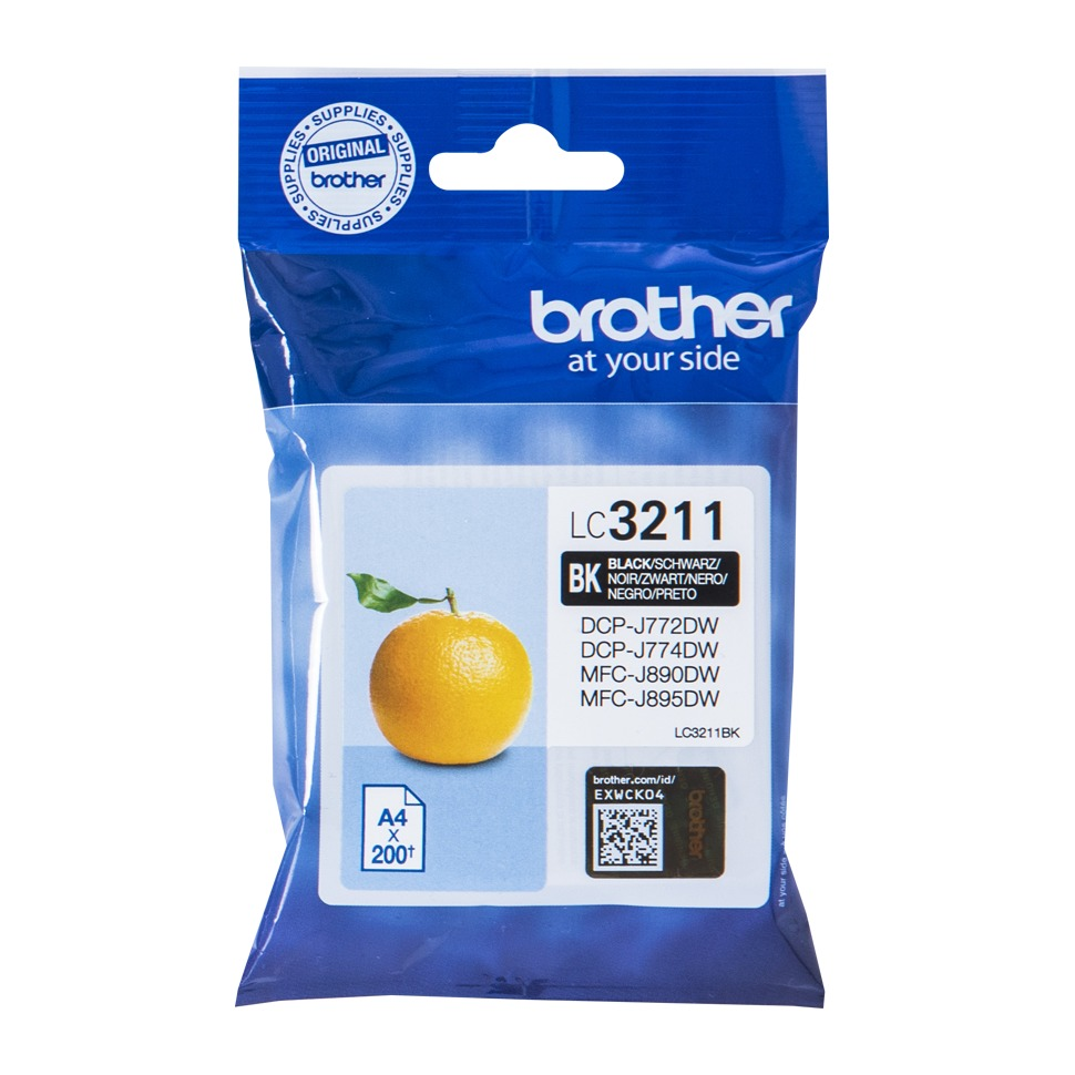 Brother inkt LC3211BK