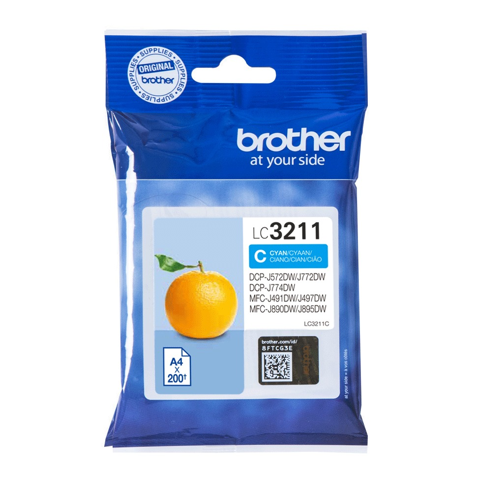 Brother inkt LC3211C