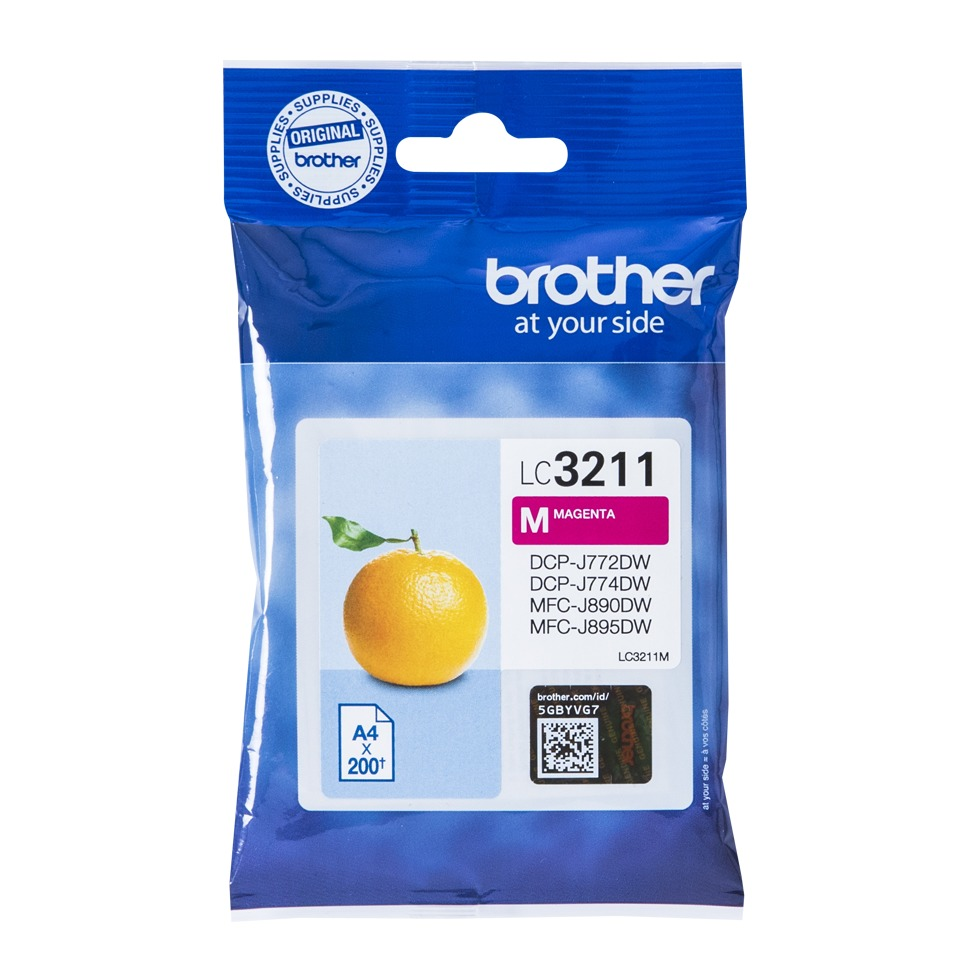 Brother inkt LC3211M