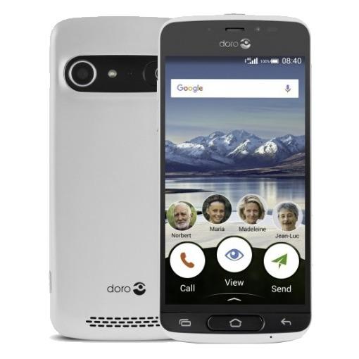 Doro smartphone 8040 wit