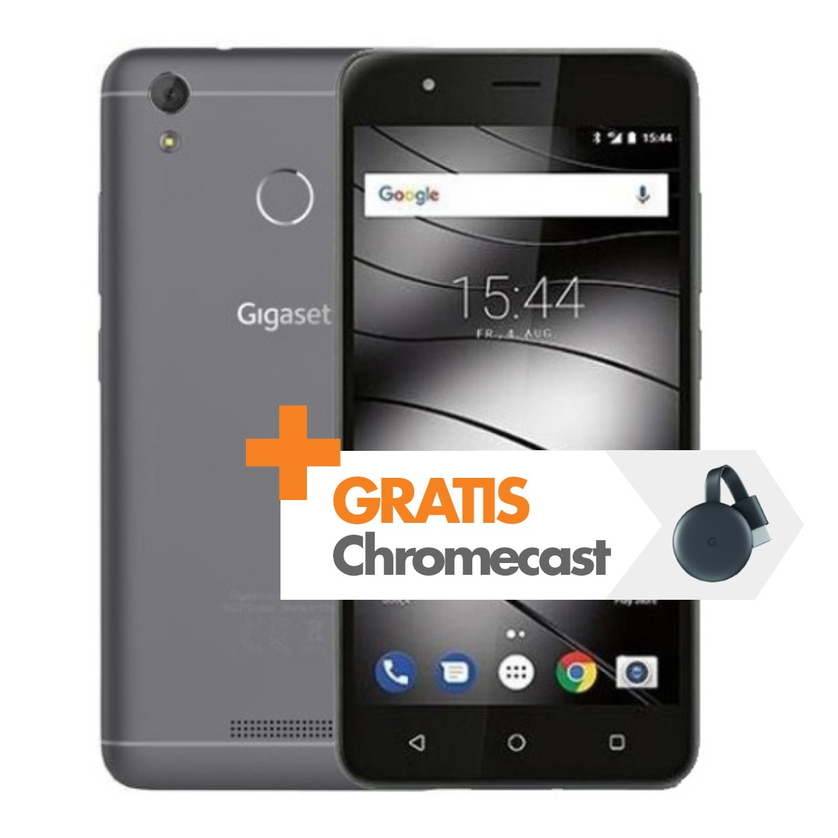 Dagaanbieding - Gigaset smartphone GS270 Plus grijs dagelijkse koopjes