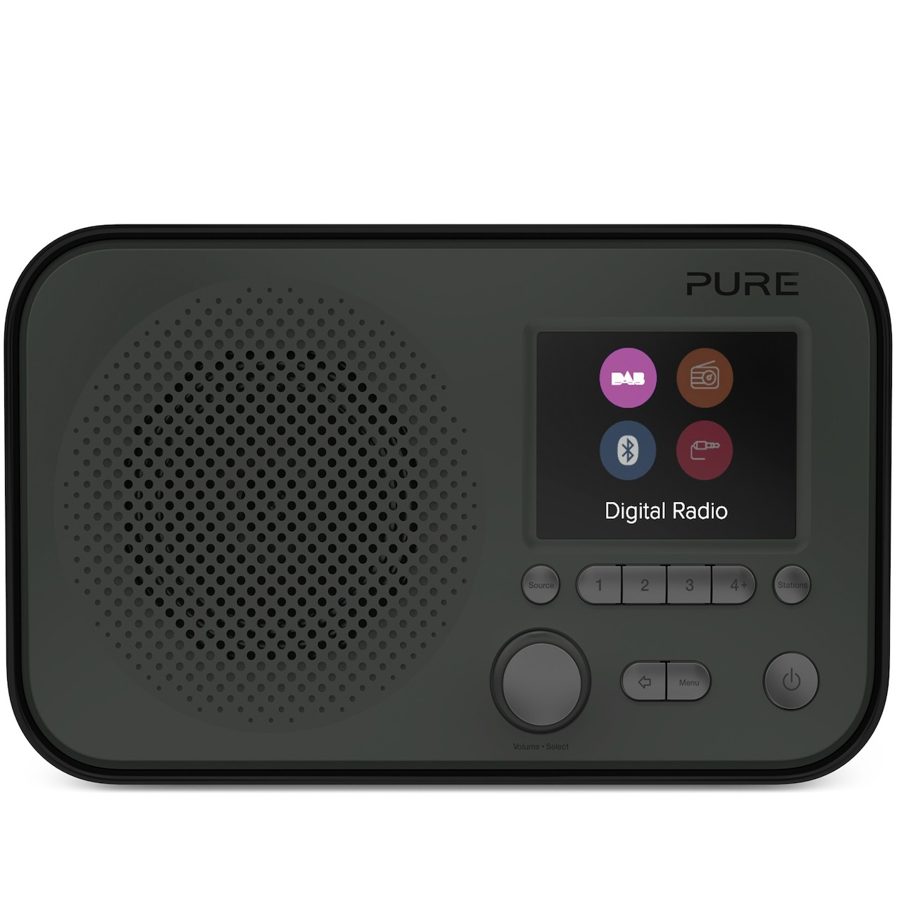 Pure dab radio ELAN BT3 grafiet