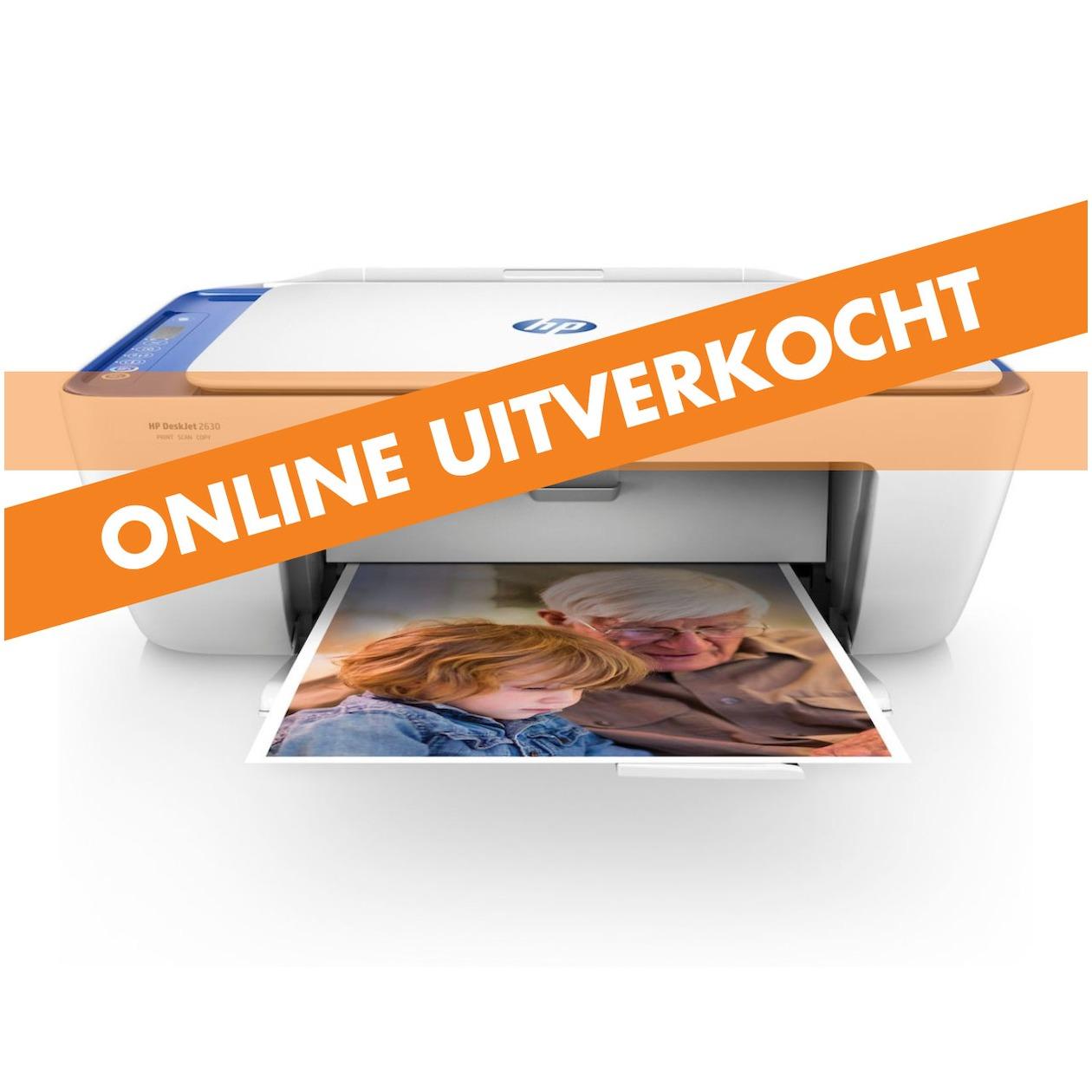 Dagaanbieding - HP all-in-one inkjet printer DeskJet 2630 dagelijkse koopjes
