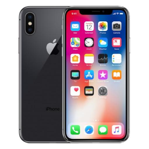 Apple smartphone iPhone X (64GB) spacegrijs