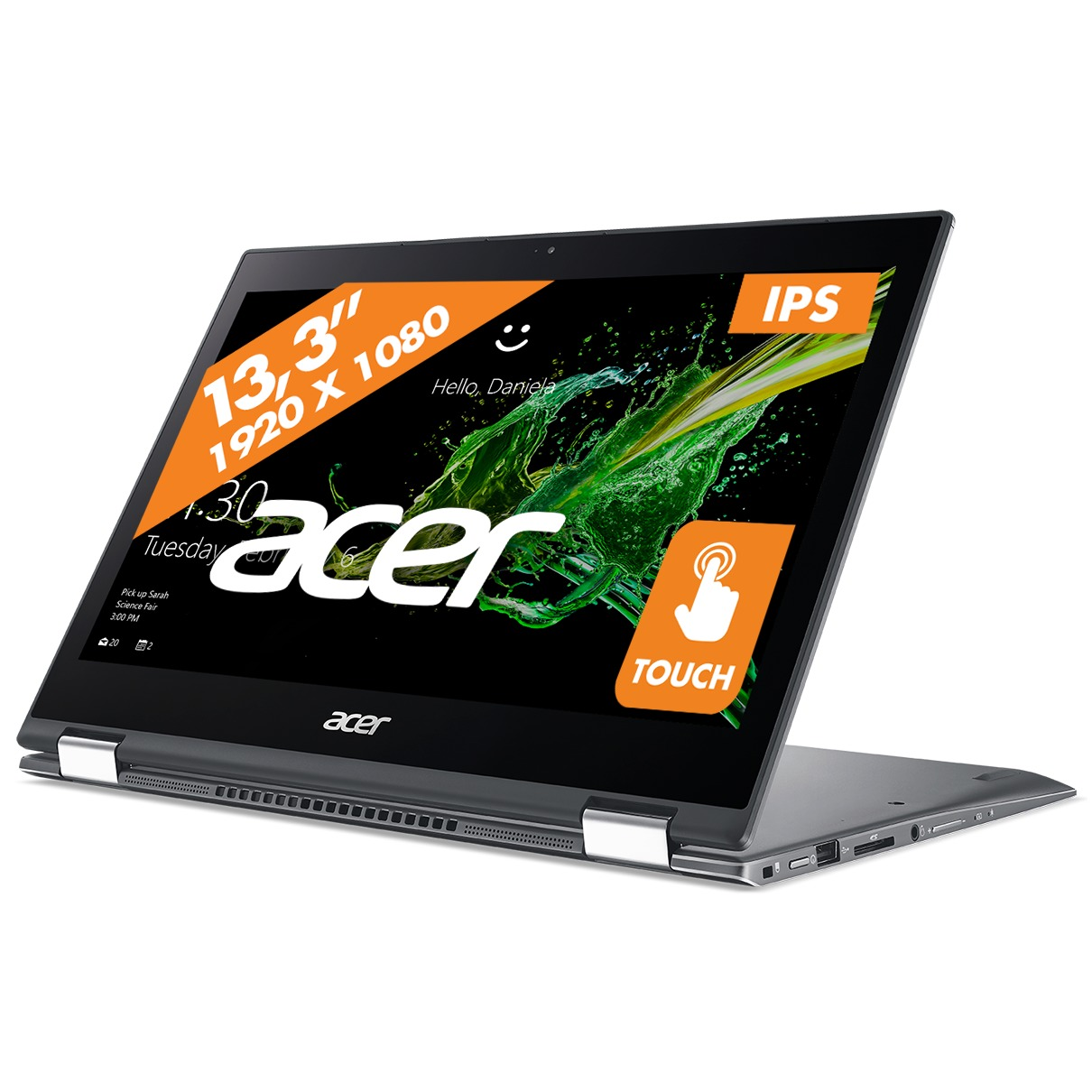 Afbeelding van Acer 2-in-1 laptop Spin 5 SP513-52N-5210