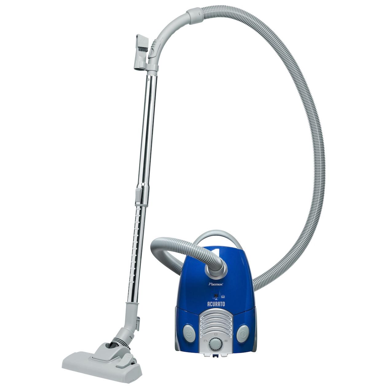 Bestron stofzuiger ABG350BGE blauw/zilver - Prijsvergelijk