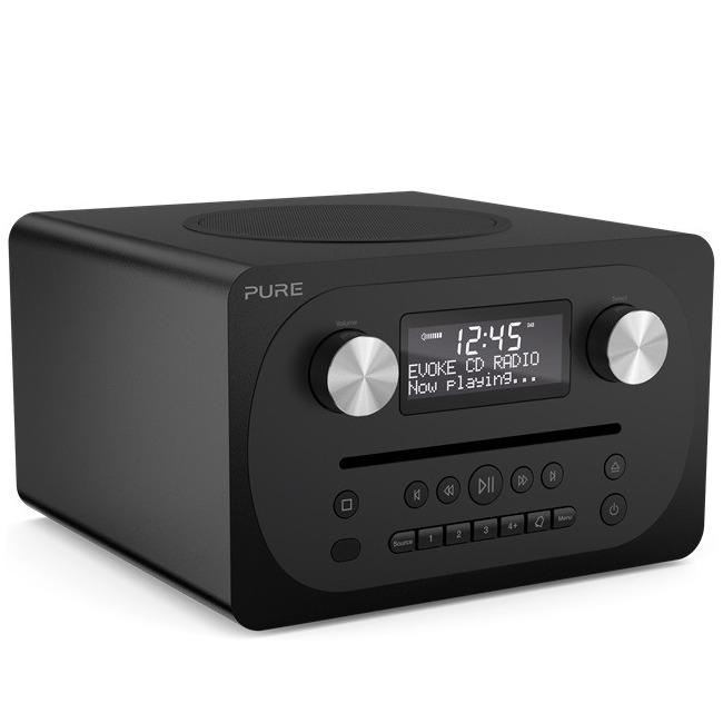 Pure dab radio Evoke CD4 zwart