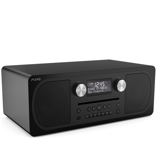 Pure dab radio Evoke CD6 zwart