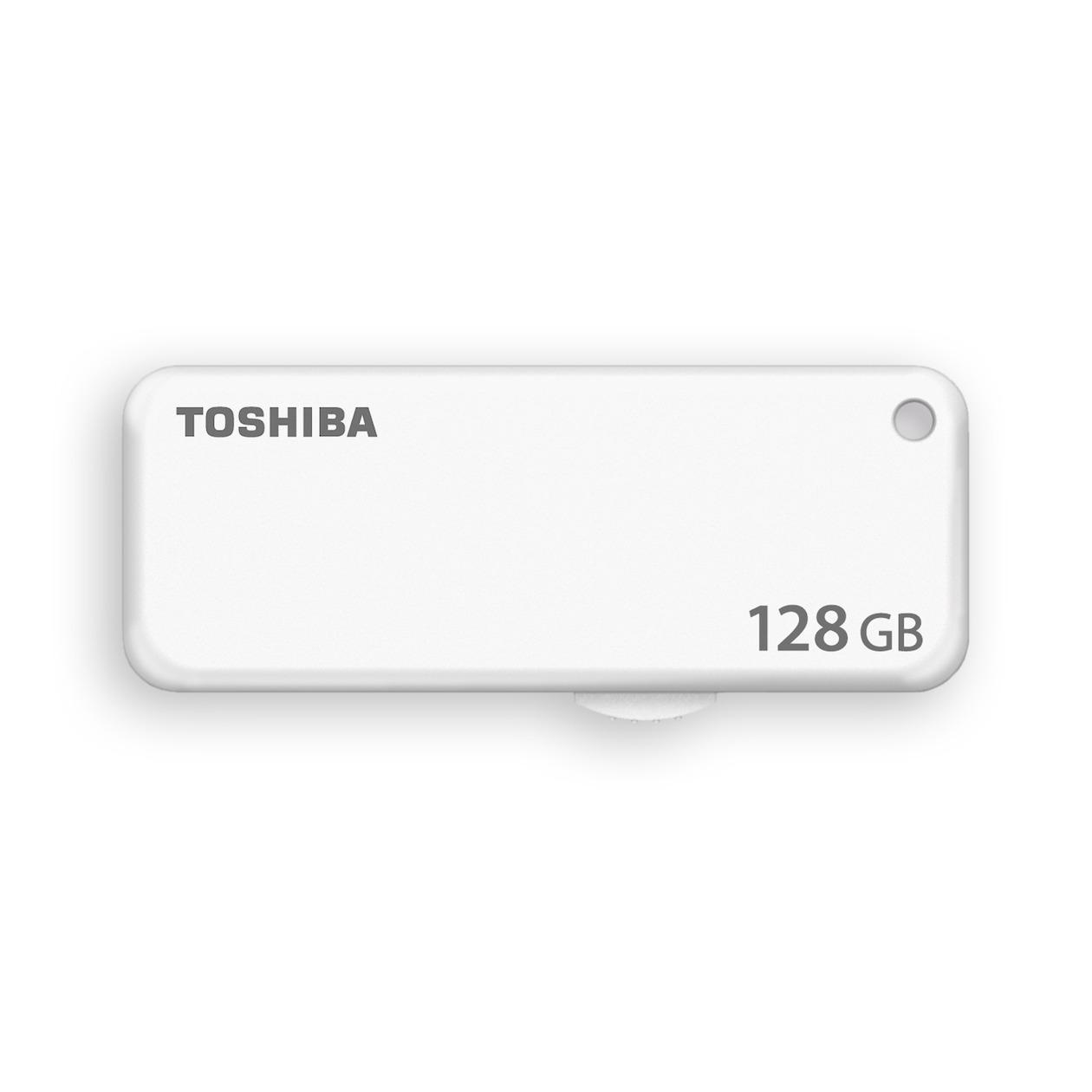 Toshiba usb-sticks TransMemory U203 128GB (USB 2.0) wit