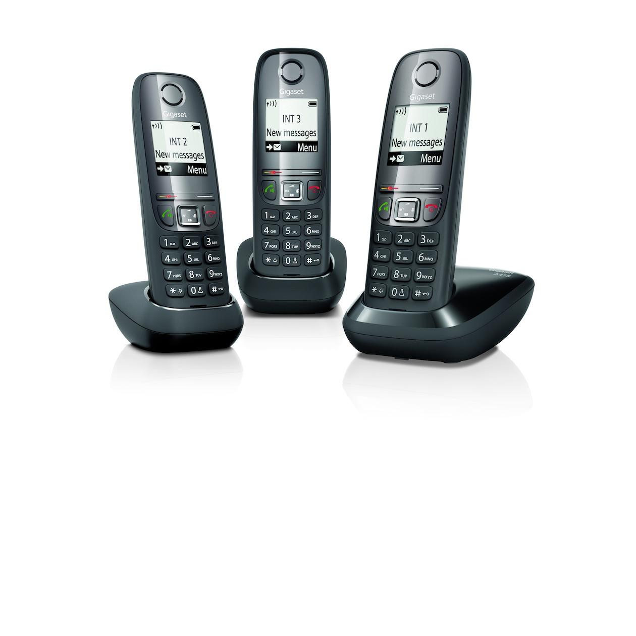 Gigaset dect telefoon A475 Trio zwart