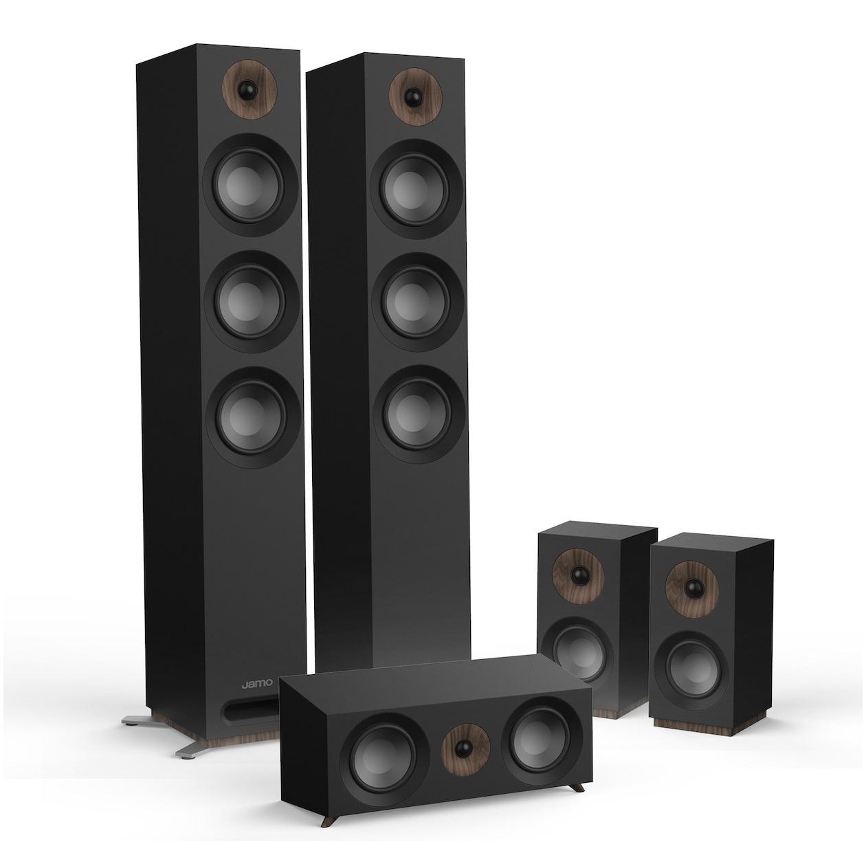 Jamo 5.1 systeem S 809 HCS /SET zwart