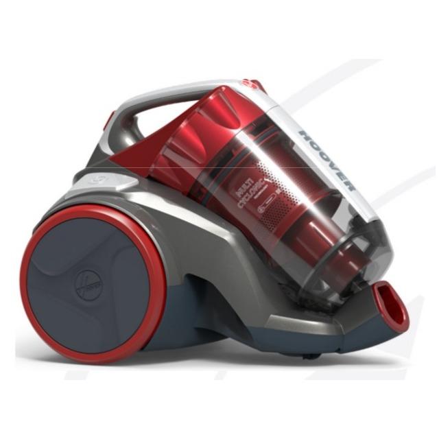 Hoover zakloze stofzuiger Khross KS50PET 011 rood - Prijsvergelijk