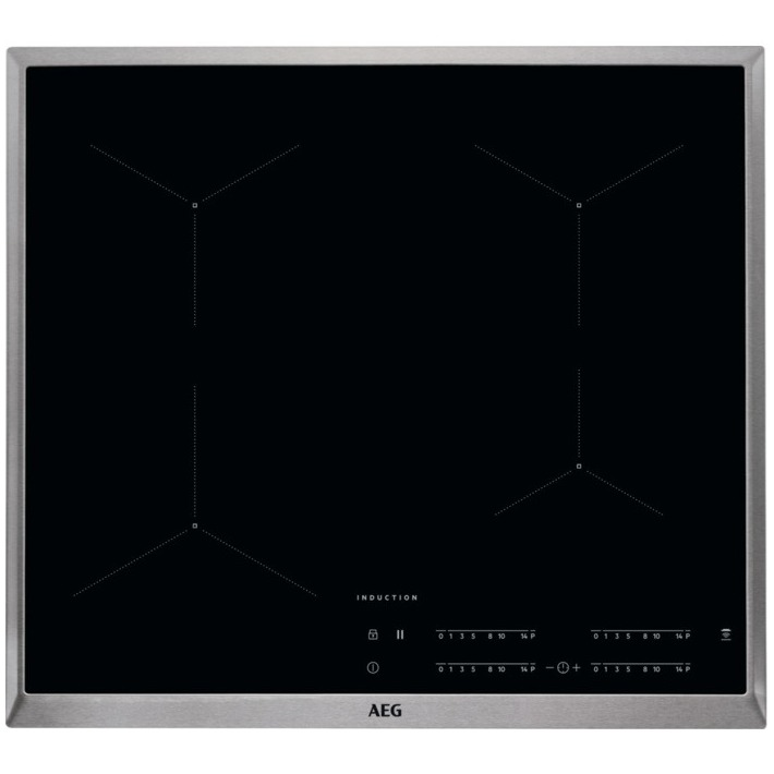 AEG inductie inbouwkookplaat IKB64431XB rvs