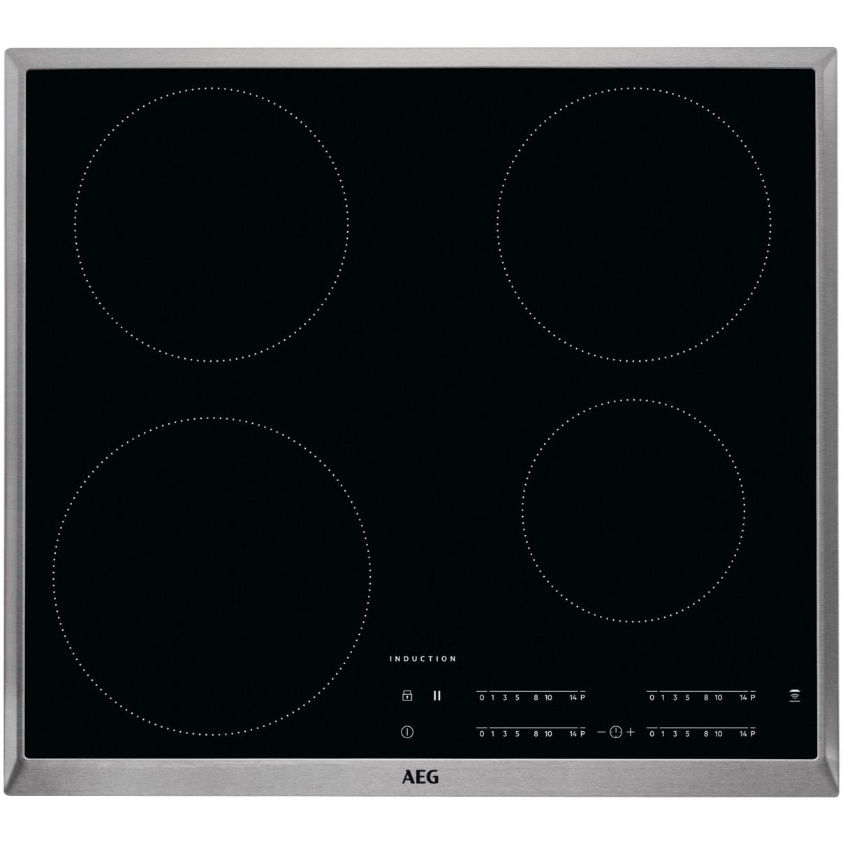 AEG inductie inbouwkookplaat IKB64401XB rvs