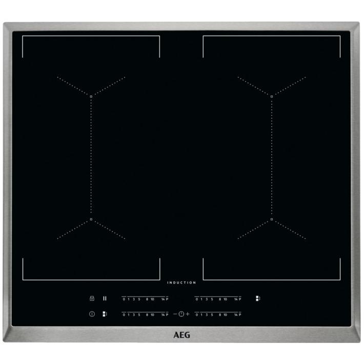 AEG inductie inbouwkookplaat IKE64450XB rvs