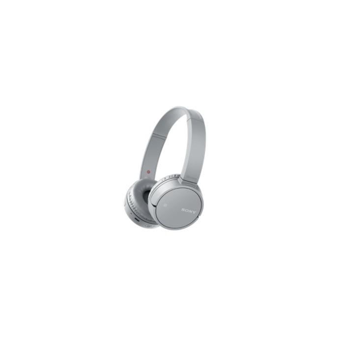 Sony WH-CH500 Oordopjes On Ear Bluetooth Grijs Headset