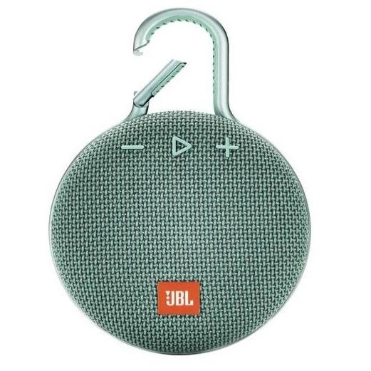JBL bluetooth speaker Clip 3 turquoise