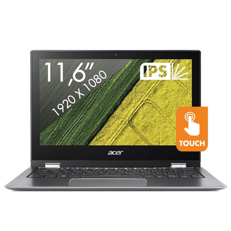 Acer 2-in-1 laptop SP111-32N-P7L4 zwart