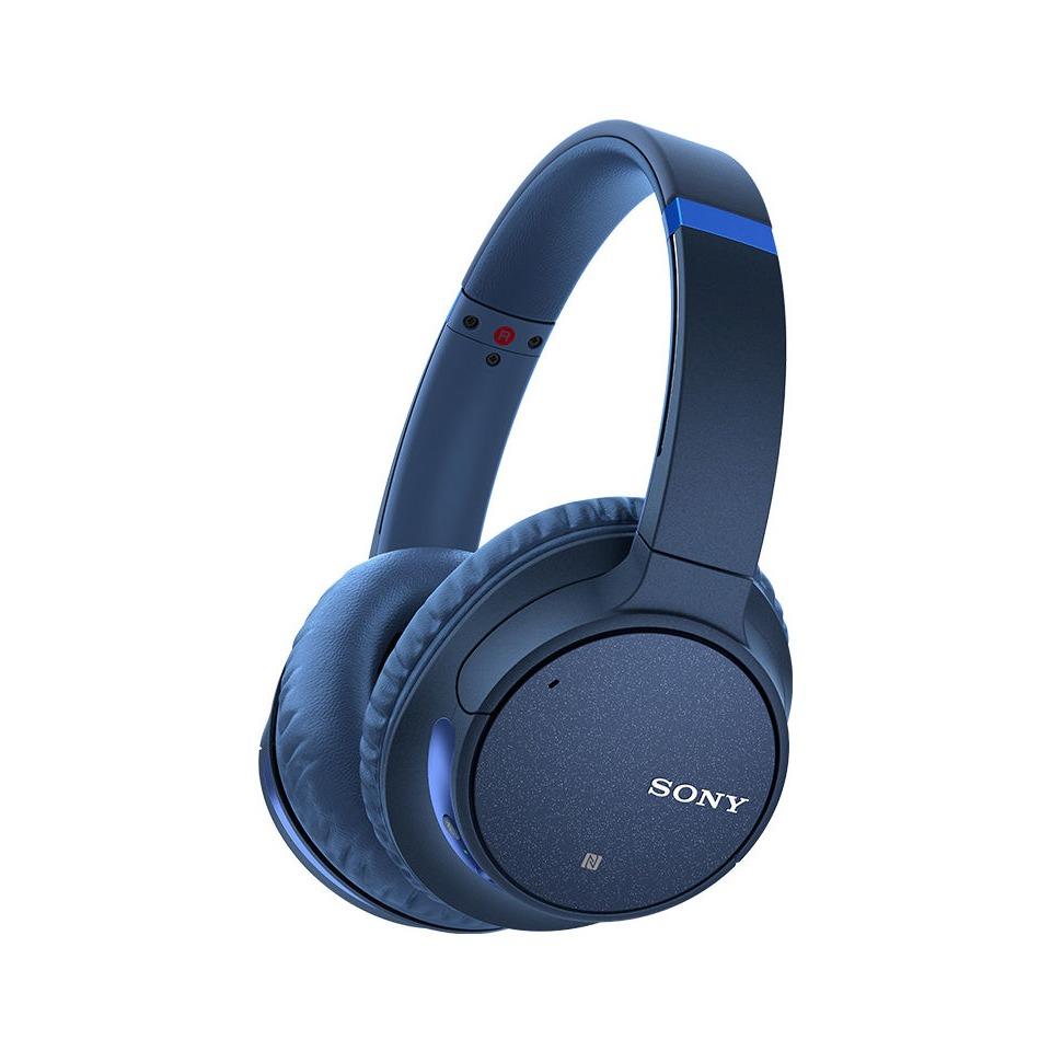 Sony WH-CH700N Koptelefoon On Ear Bluetooth Blauw Headset, Ruisonderdrukking