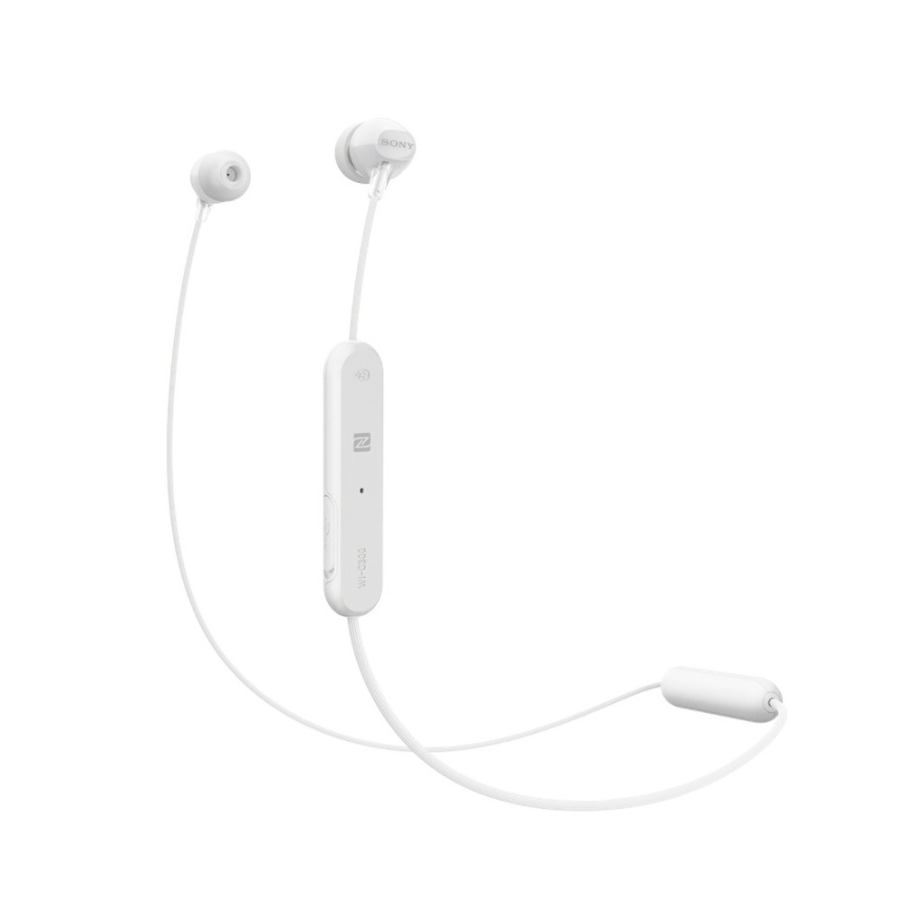 Sony WI-C300 Koptelefoon In Ear Bluetooth Wit Headset