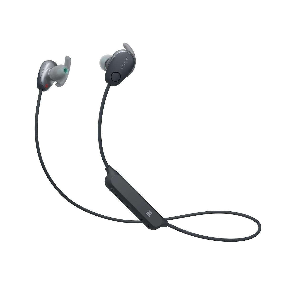 Sony in-ear oordopjes WI-SP600N zwart