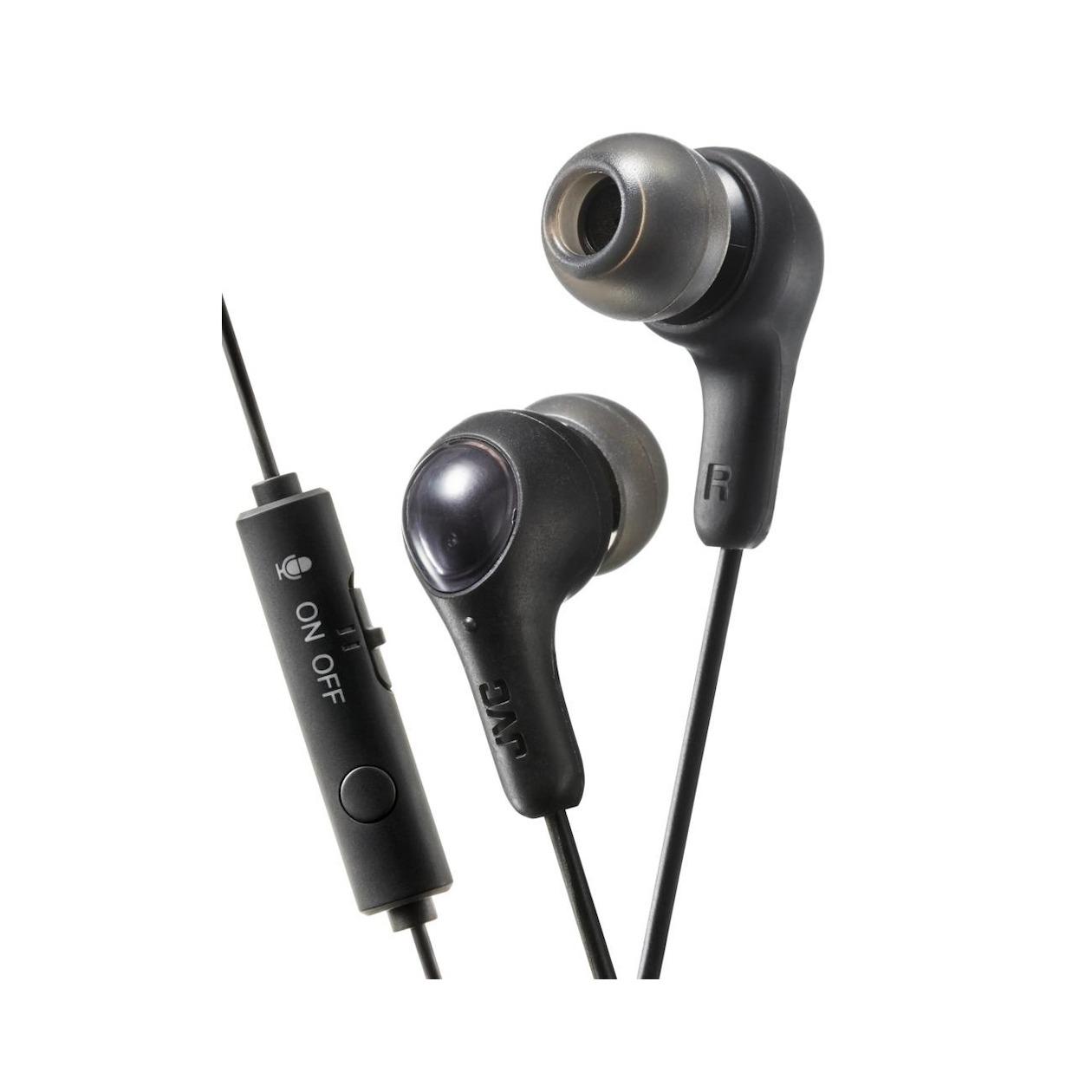 JVC in-ear oordopjes HA-FX7G zwart
