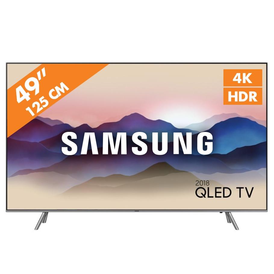 SAMSUNG QLED TV QE49Q6F QLED TV 2018