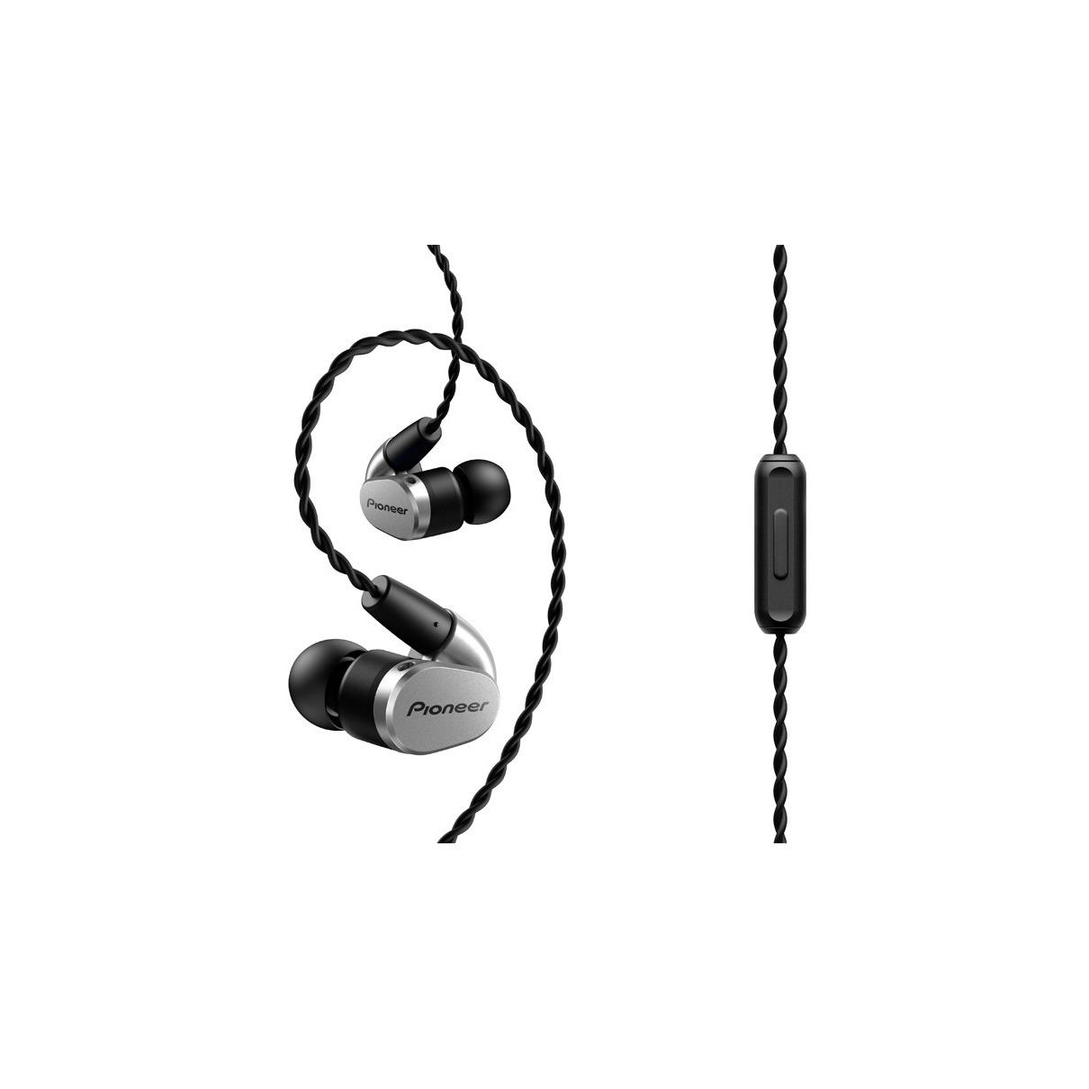 Pioneer in-ear oordopjes SE-CH5T-S zilver