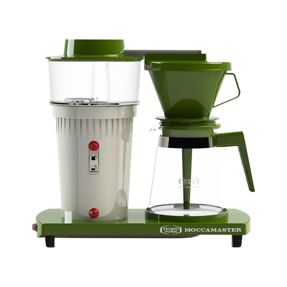 Moccamaster koffiefilter apparaat EDITIE  en apos;68 groen/wit - Prijsvergelijk