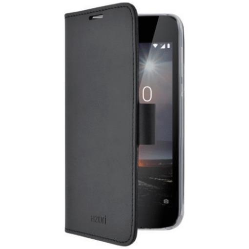 Azuri telefoonhoesje Wallet Case met magnetische sluiting en cardslots - voor Nokia 1 zwart