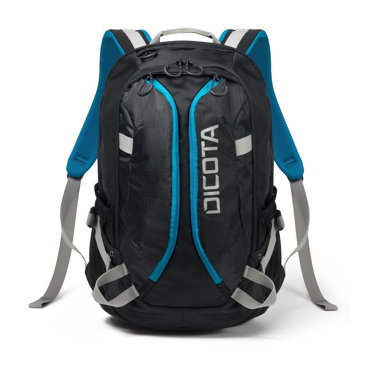 Dicota laptop tas Backpack ACTIVE XL 15-17.3 zwart blauw