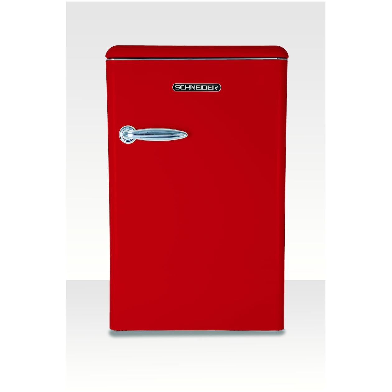 Schneider koelkast zonder vriesvak SL 130 FR-TT A++ Fire Red - Prijsvergelijk