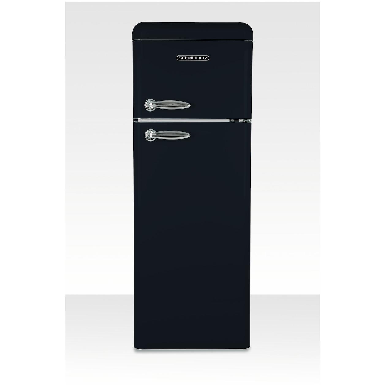 Schneider koelkast met vriesvak SL 210 B-DD A++ Black Matt