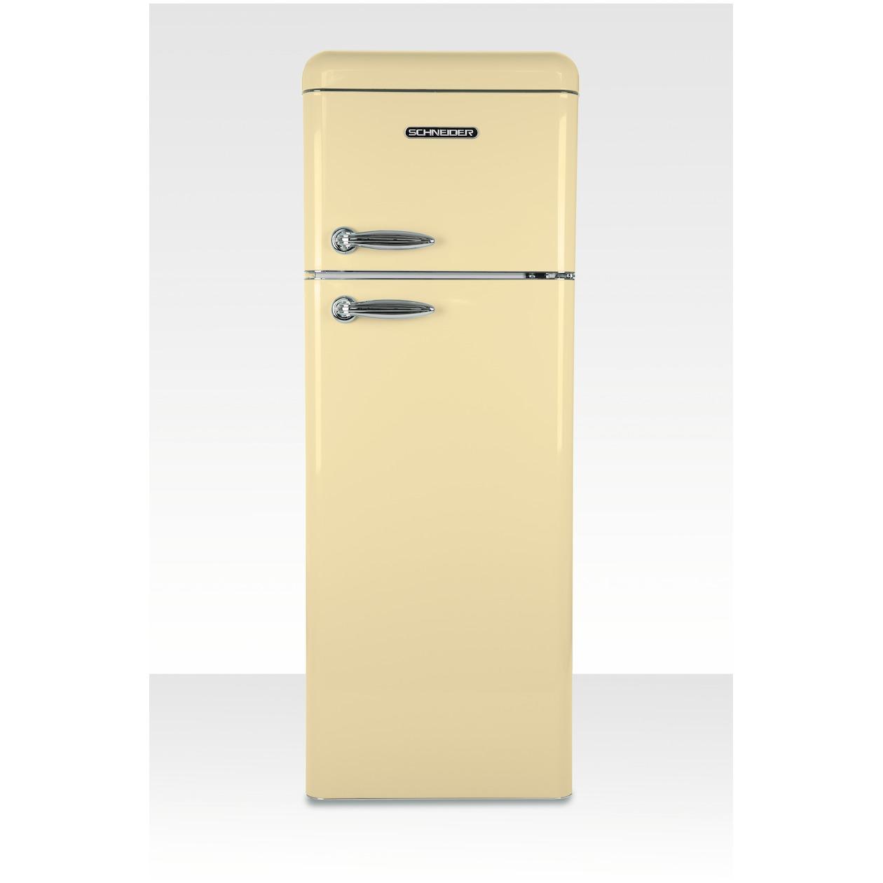 Schneider koelkast met vriesvak SL 210 SC-DD A++ Cream