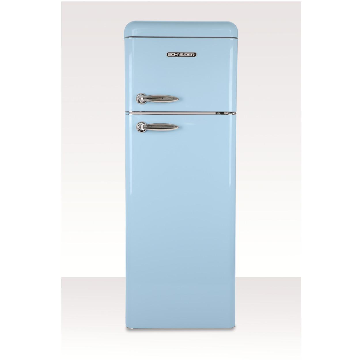 Schneider koelkast met vriesvak SL 210 LB-DD A++ Light Blue