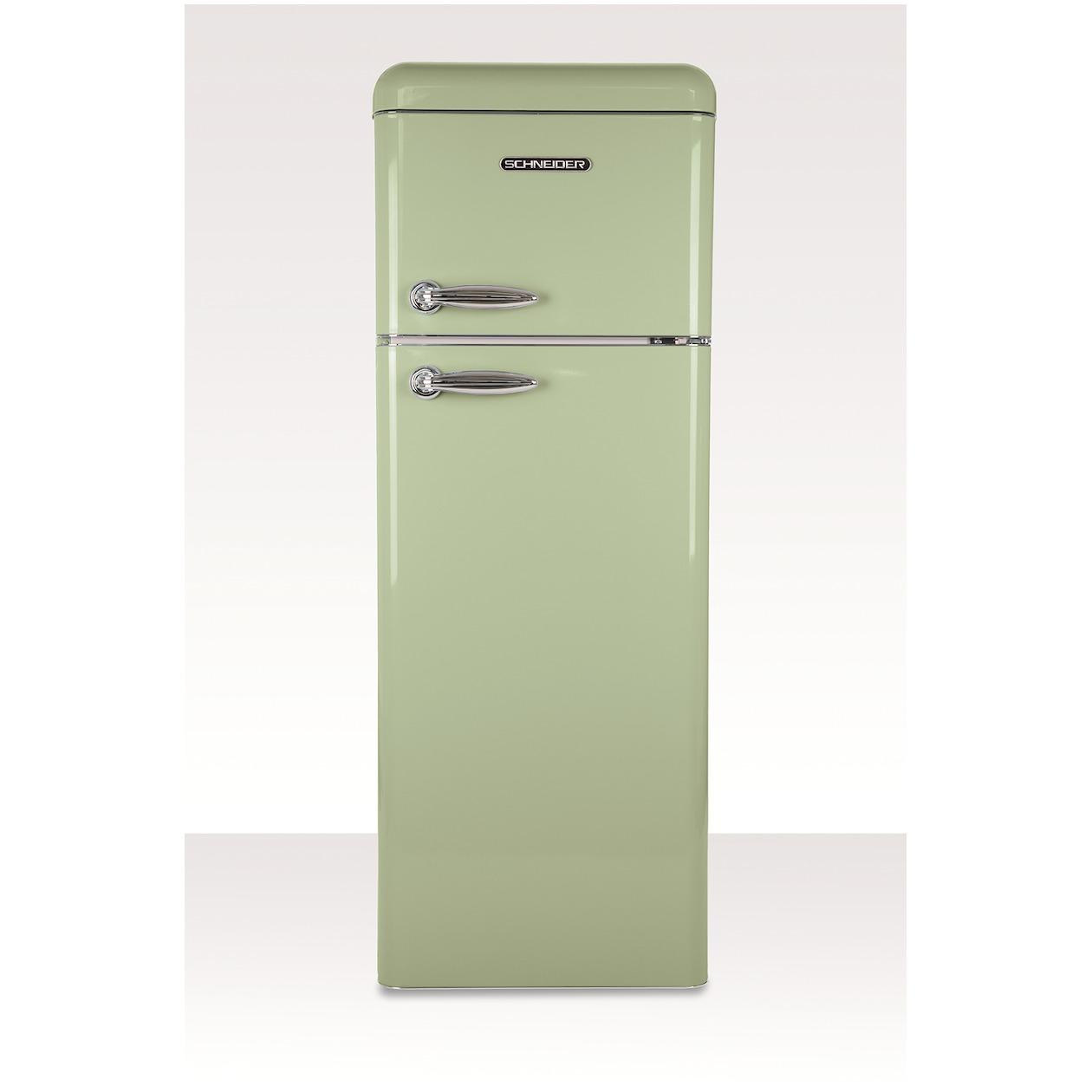 Schneider koelkast met vriesvak SL 210 SG-DD A++ Green