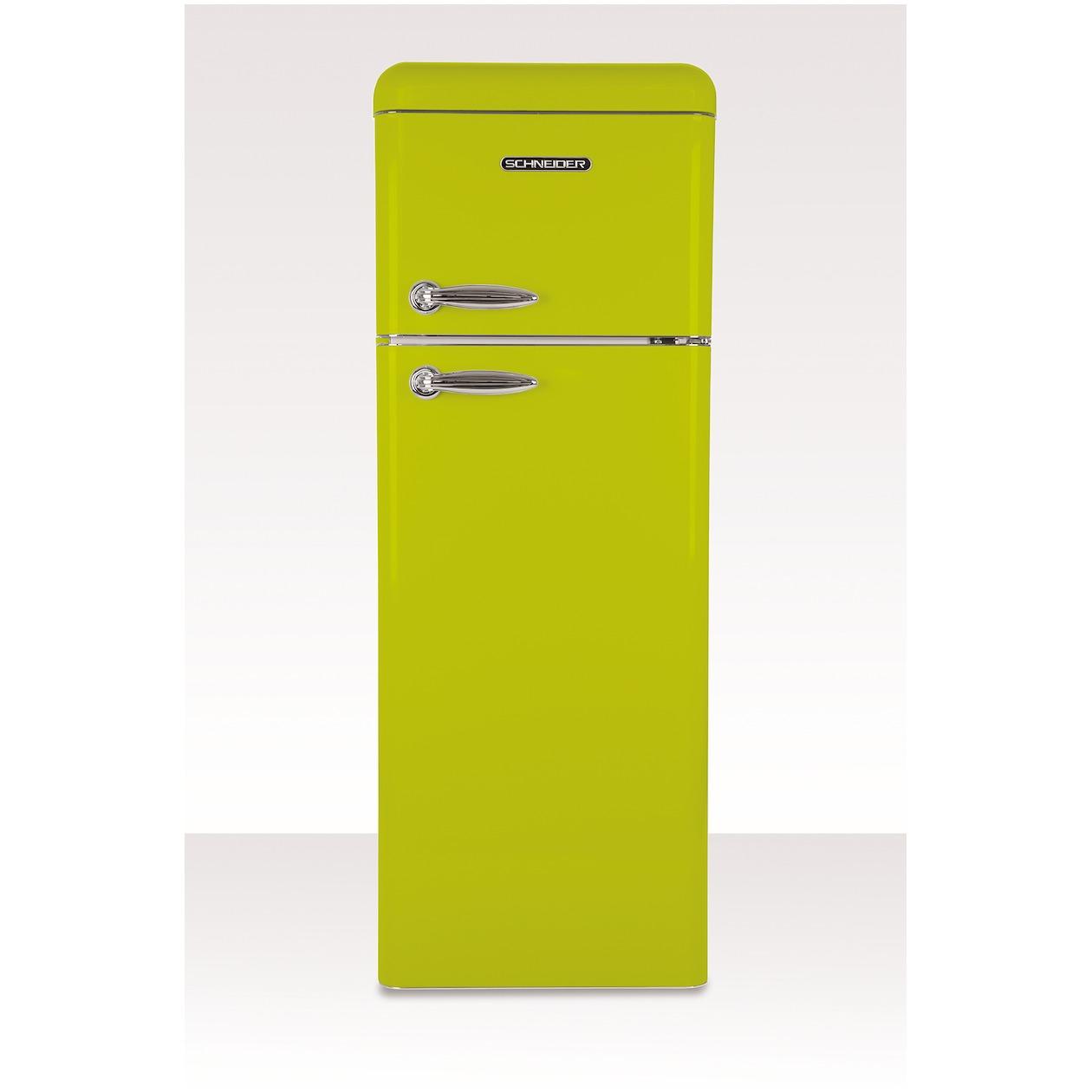 Schneider koelkast met vriesvak SL 210 LG-DD A++ Lime Green