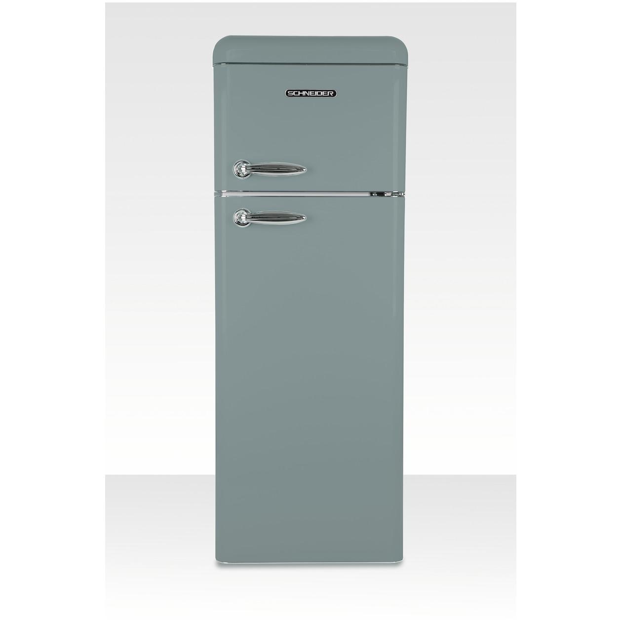 Schneider koelkast met vriesvak SL 210 SGR-DD A++ Grey