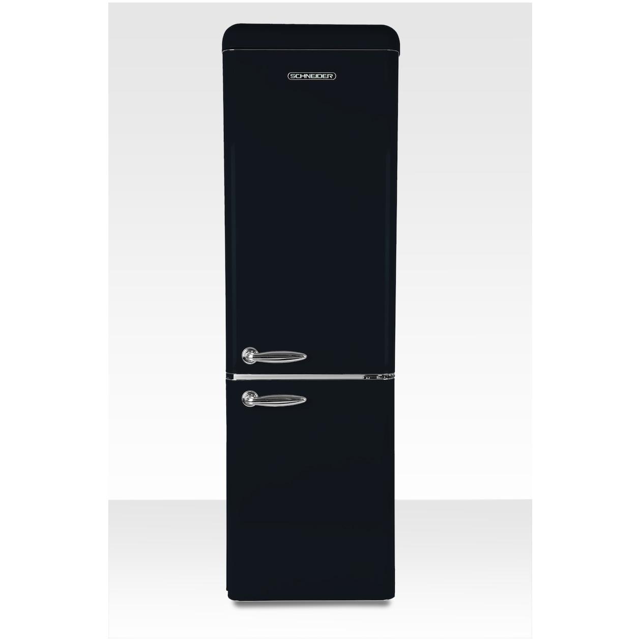 Schneider koelkast met vriesvak SL 250 B-CB A++ Black Matt - Prijsvergelijk