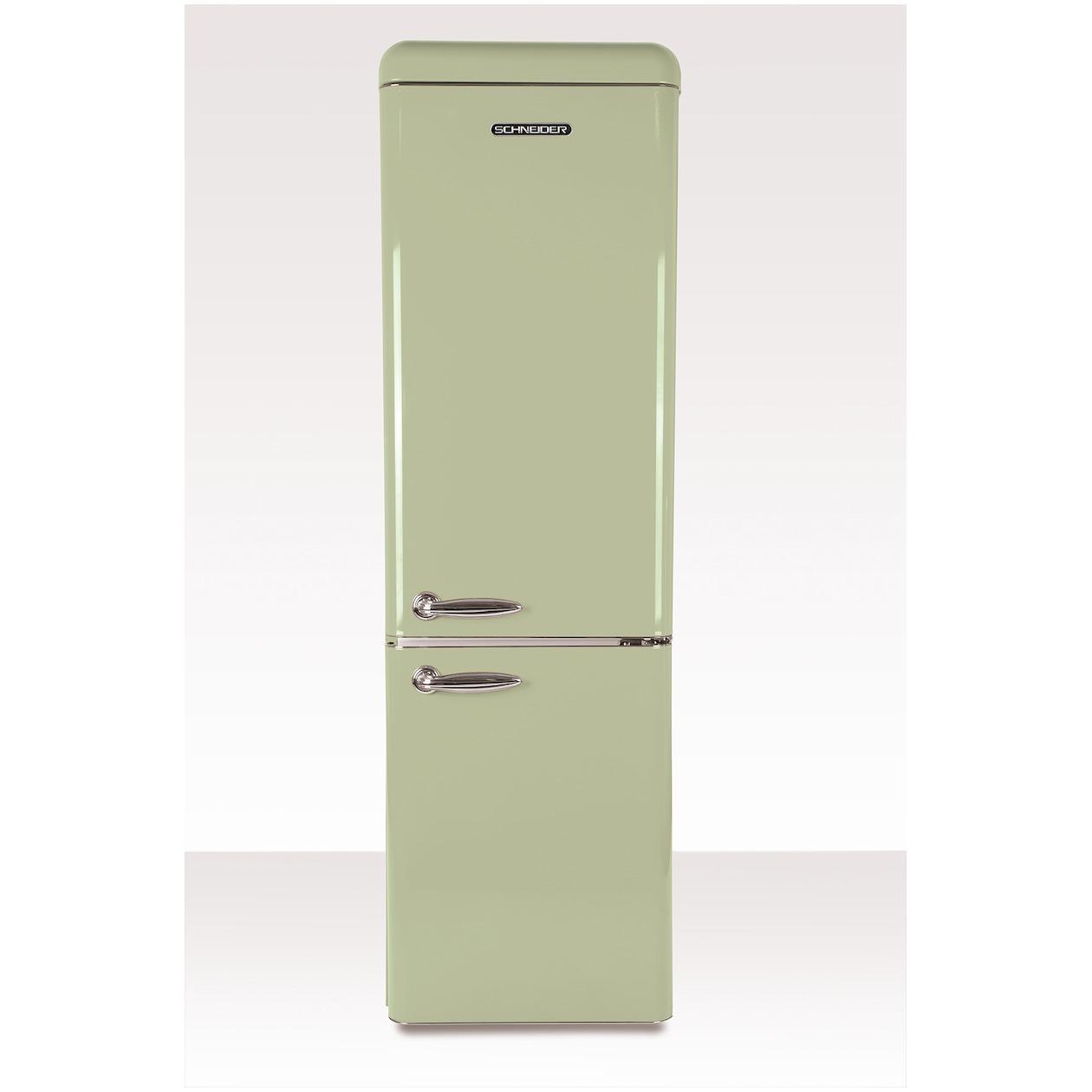 Schneider koelkast met vriesvak SL 250 SG CB A++ Green