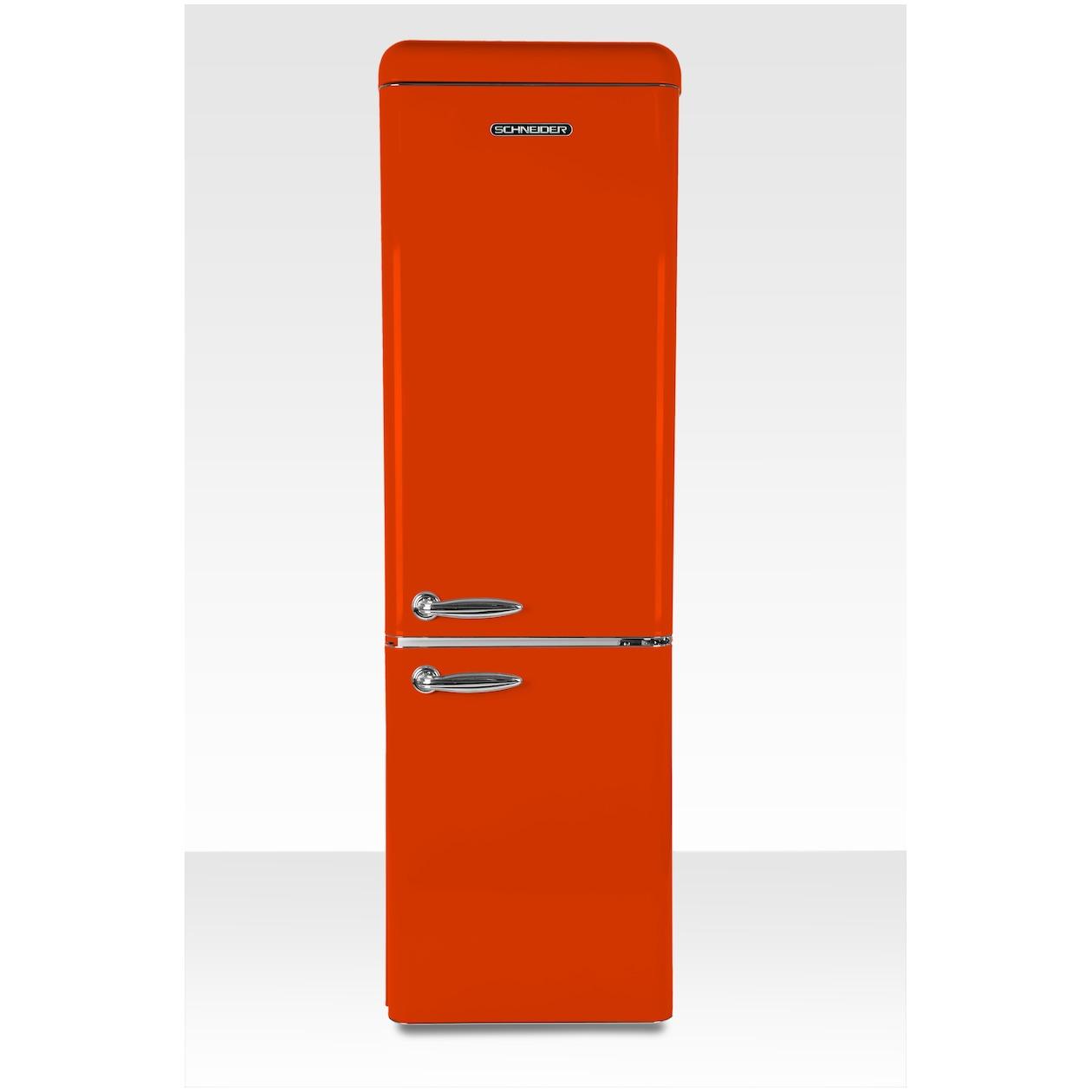Schneider koelkast met vriesvak SL 250 O-CB A++ Orange