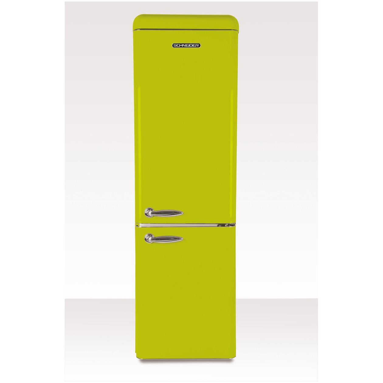 Schneider koelkast met vriesvak SL 300 LG-CB A++ Lime Green - Prijsvergelijk