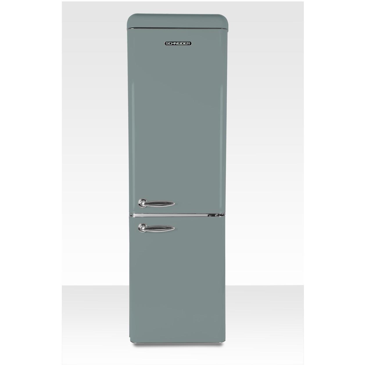 Schneider koelkast met vriesvak SL 300 SGR-CB A++ Grey - Prijsvergelijk
