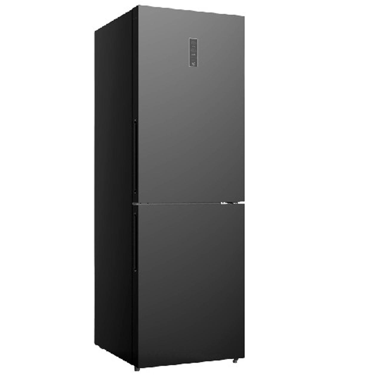 Schneider koelkast met vriesvak SKG 320.4 A+++ NF Black Glass