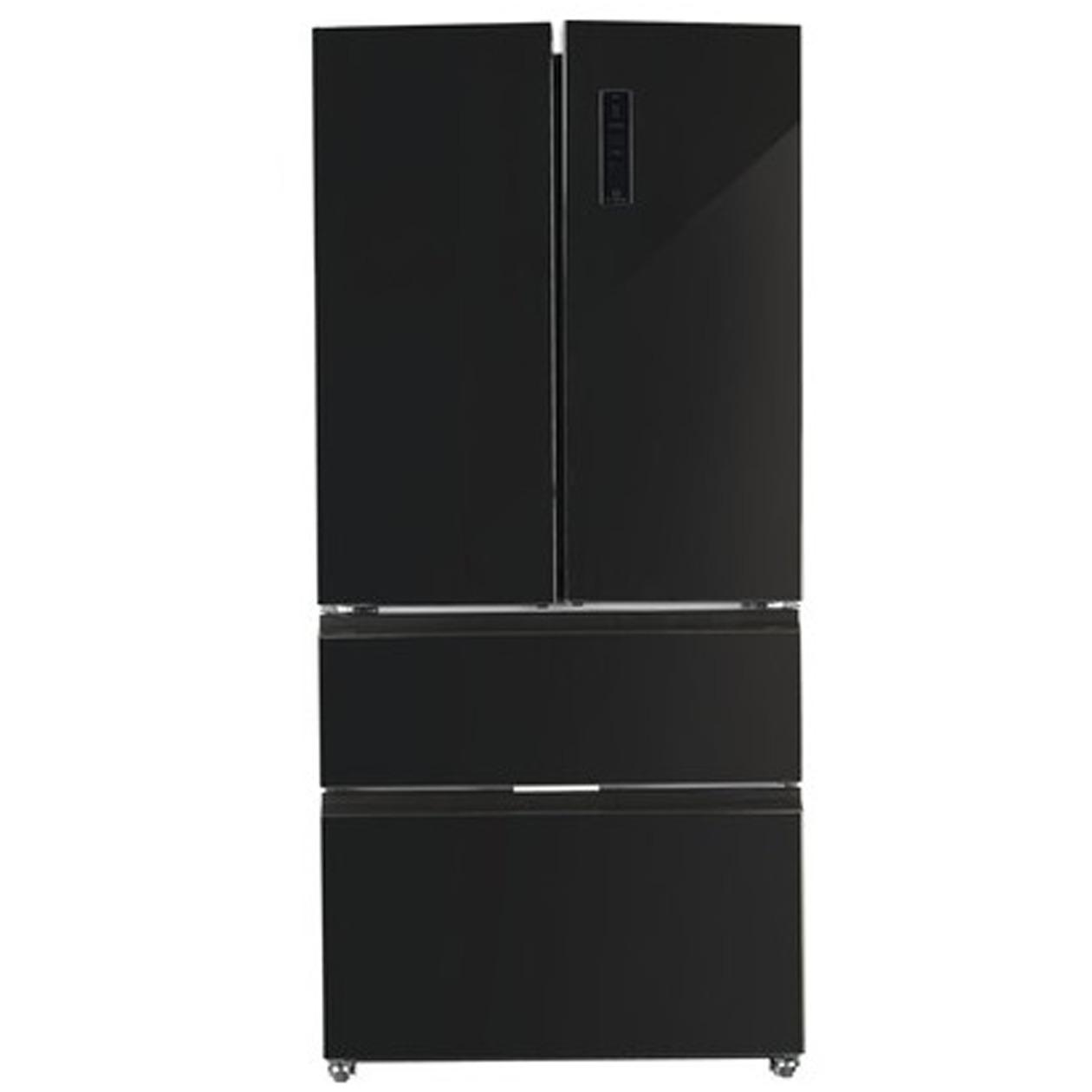 Schneider amerikaanse koelkast SFD 540 A+ NF Black
