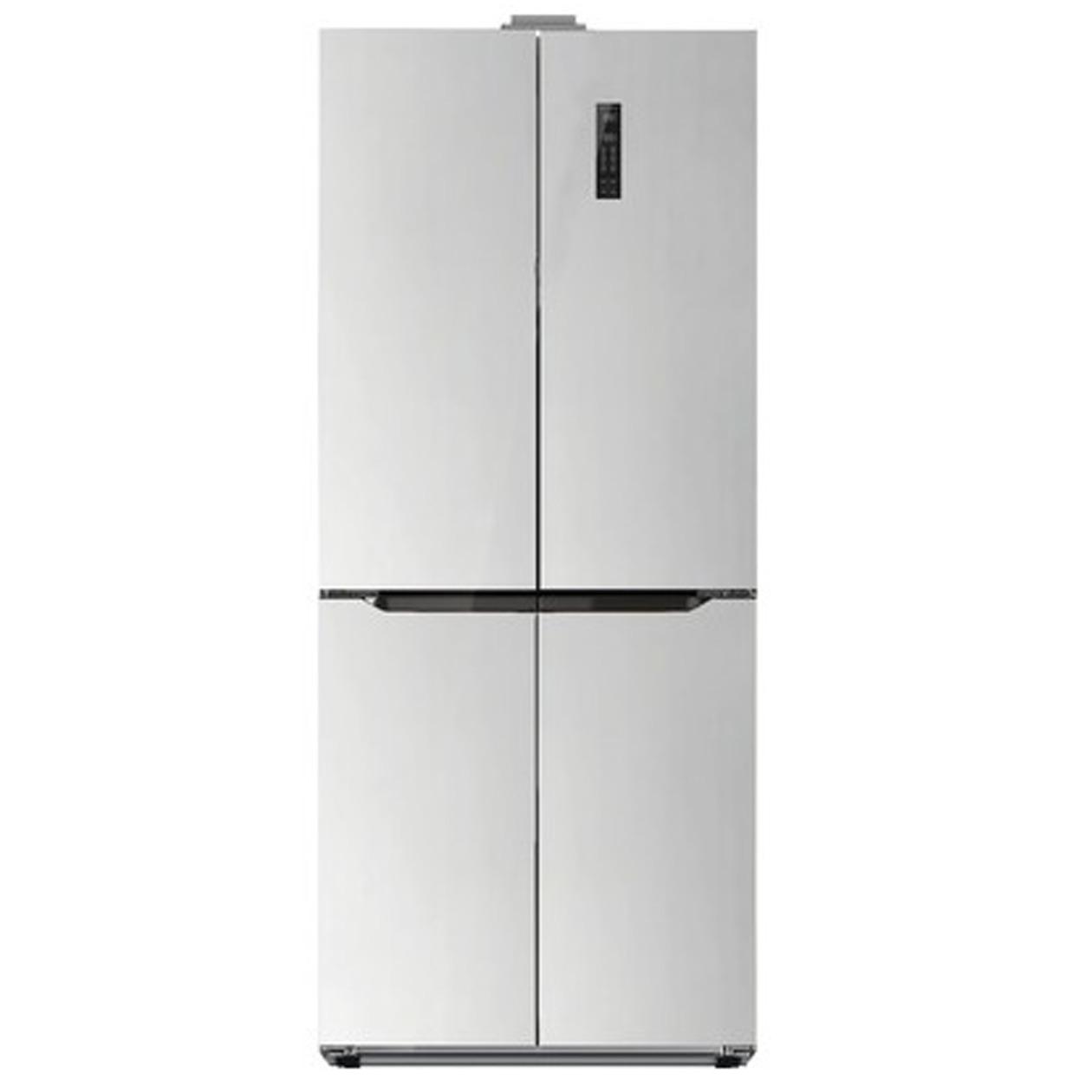 Schneider amerikaanse koelkast SCD 400 A++ NF Inox